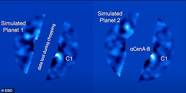 A potential Neptune-to Saturn-sized planet has been discovered in the habitable zone of a neighboring star system that 'could be suitable for life.' The exoplanet, dubbed 'C1,' was spotted in the Alpha Centauri triple star system 4.4 light-years