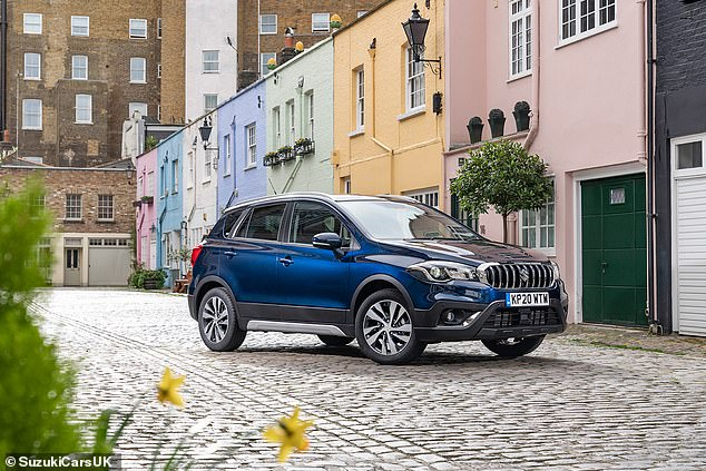 What Car? says buyers of the Suzuki S-Cross Hybrid can trim the £24,249 by 13.8% this month - a saving of £3,250