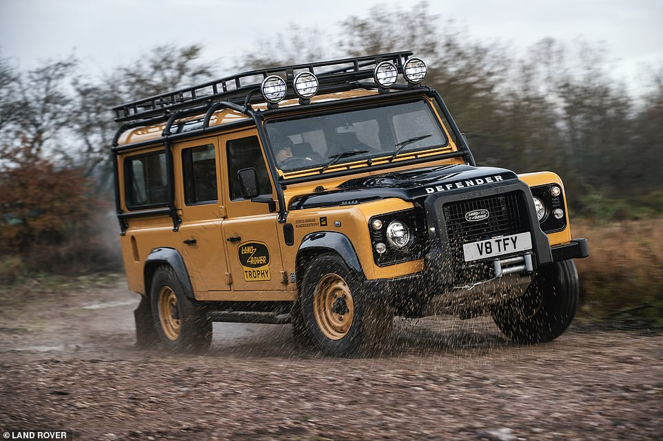 The ultimate Defender? This is the newDefender Works V8 Trophy - a limited edition version of the old-school 4X4 that isn't for the faint-hearted - or anyone with shallow pockets