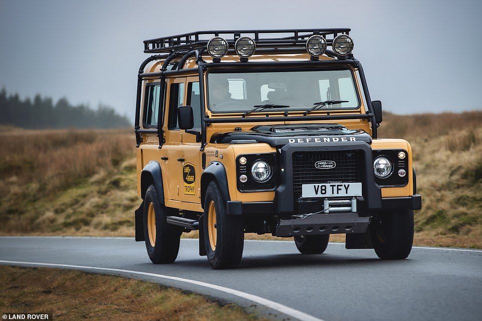 Other features that are packed into the V8 Trophy Defenders include underbody protection, an A-bar, raised air intake, LED spotlights and mud-terrain tyres