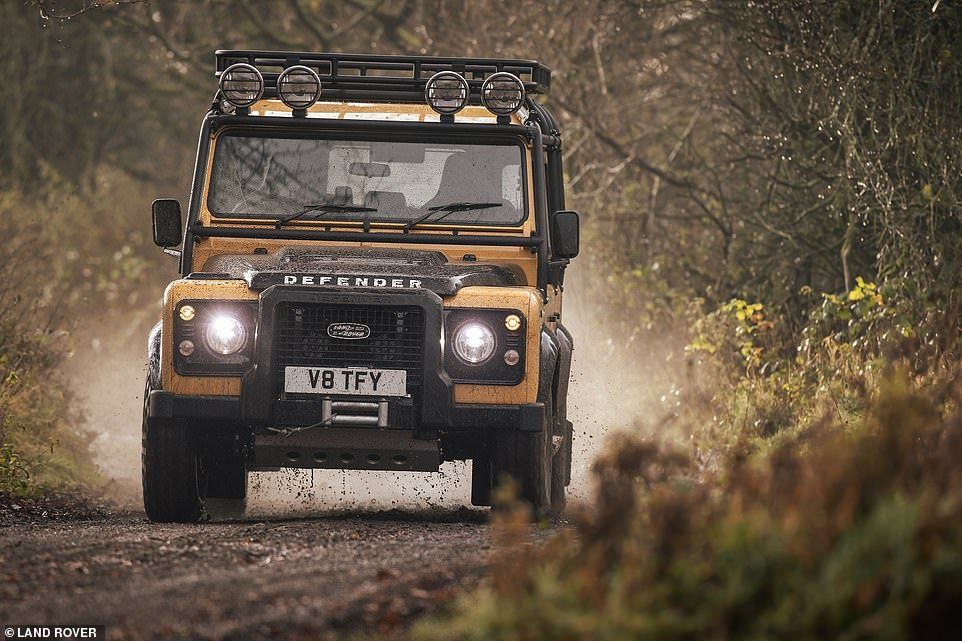 Both smaller Defender 90 and longer wheel base 110 versions of the Defender Works V8 Trophy will be available, based on the 2012 to 2016 variants