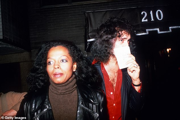 He tells DailyMail.com about the judgement he and ex Diana Ross received as an interracial couple. Pictured together in 1979