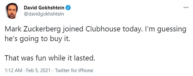 Moments after news spread the Zuckerberg made a surprise appearance on Clubhouse, Twitter was filled with conversations about the CEO's motives