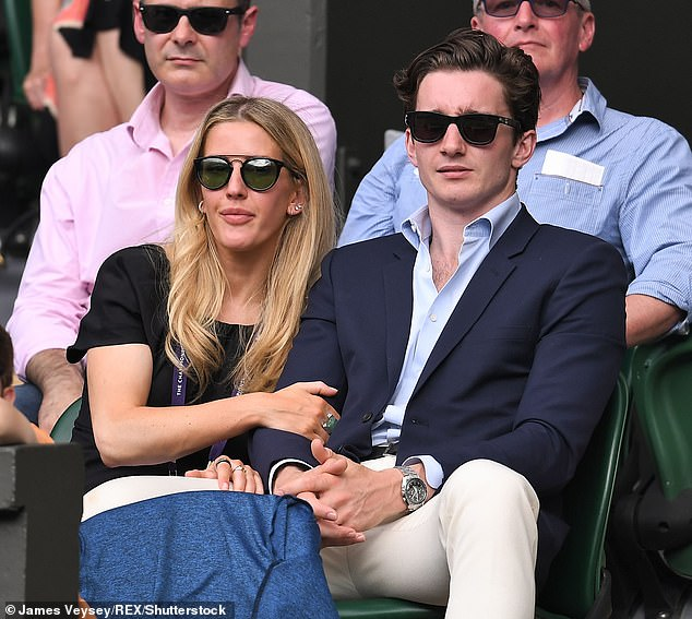 Going strong: Ellie and Jasper met in 2016 after sitting next to each other at a dinner hosted by their mutual friend, Princess Eugenie (Photo in 2019)