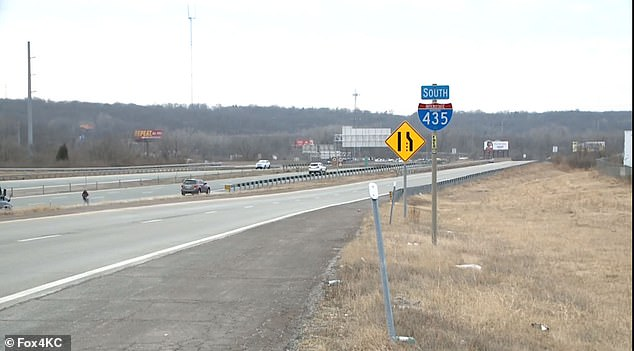 The crash happened just an exit south of the Chiefs' practice field in Kansas City, Missouri