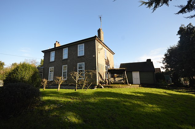 Dairy Farm House near Ely is a former 19th century farmhouse with 1.11 acres of gardens. It is up for sale at Cheffins' 2 March online auction with a guide price of £250,000 - £275,000