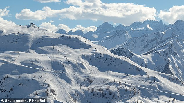 The Holiday Guru says the chances of hitting the slopes on a skiing holiday this winter are 'pretty slim'. Pictured is the French ski resort of Valloire