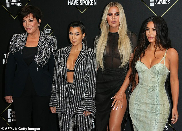 Drama: Last month, the media personality landed another victory in her lawsuit against Kris Jenner (pictured with Kourtney, Khloe and Kim Kardashian in 2019) and her family