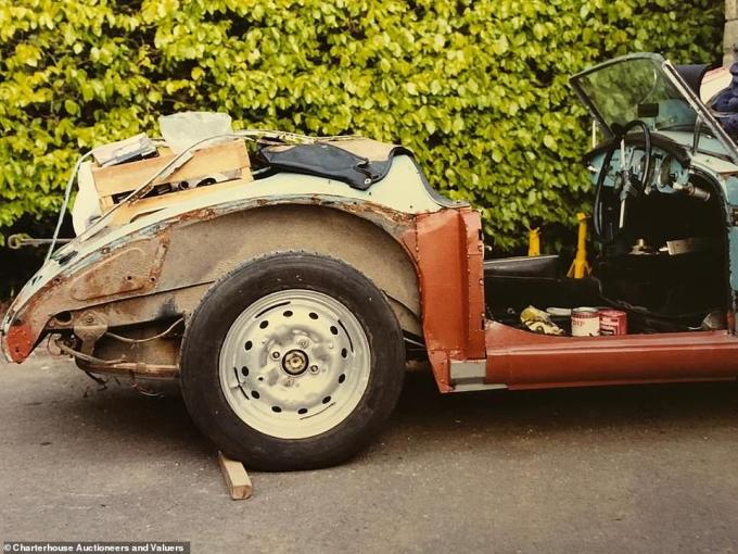 The restoration job some three decades ago was mostly bodywork and chassis reconditioning. Work on the engine was never completed, says Charterhouse