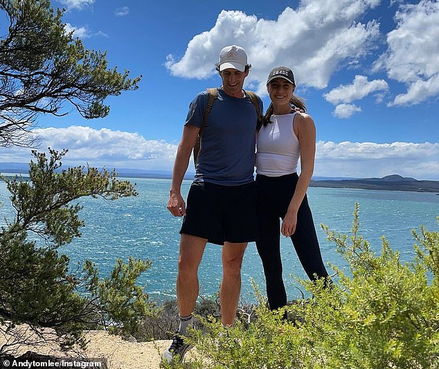 'Bec played the games with me. And yeah, we are no longer together': The comedian, who is the host of Channel Ten's game show The Cube, recalled getting Rebecca to try out the games with him, joking how the pressure took a toll on their relationship