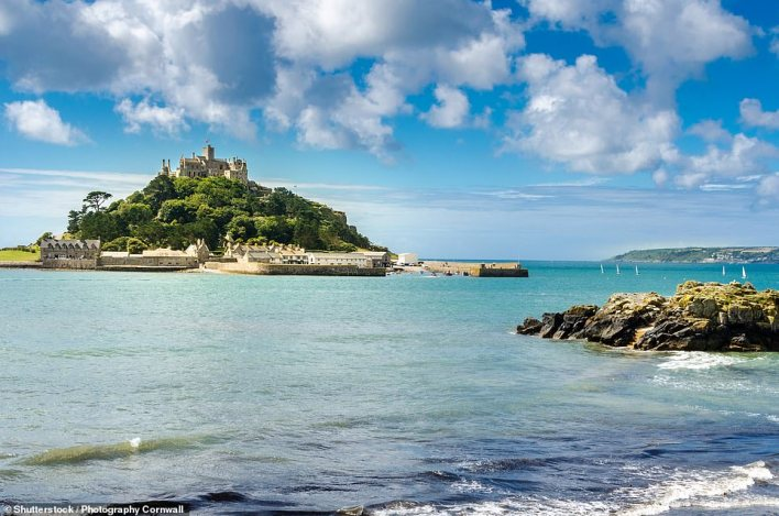Cornwall is set to be popular again this summer and solo travellers can join in the holiday fun with the new Falmouth Bay & St Ives tour with Riviera Travel. Pictured isSt Michael's Mount