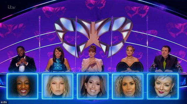 Wrong! Prior to her unmasking, judges Jonathan Ross, Mo Gilligan, Davina McCall and Rita Ora all wrongly guessed who the contestant could be, they were joined by 2020 winner Nicola Roberts