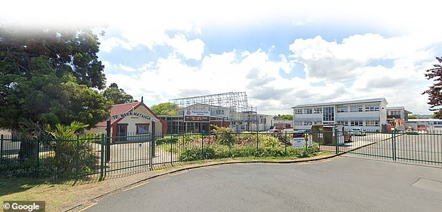 Papatoetoe High School (pictured) has been closed and a testing  facility will be erected on the campus for members of the school community