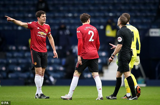 United were awarded the penalty in last month's draw only for VAR to overturn the decision