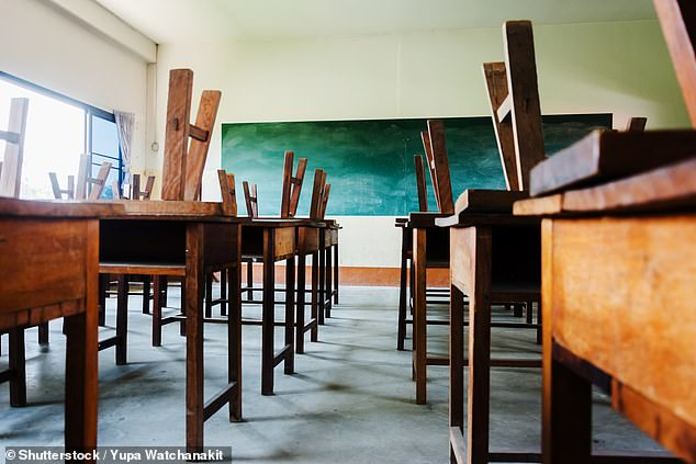 Teaching unions cast doubt yesterday on ambitious plans to get all pupils back into school on March 8 [Stock image]