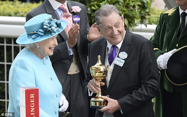 Derrick Smith (pictured receiving a trophy from the Queen at the 2014 Ascot festival, started his career as a bookmaker with Ladbrokes, before moving to currency trading