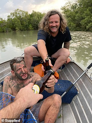 Joiner and Faust shared a beer with Voskresensk after saving him from the mangroves