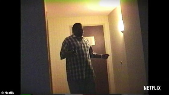 18: Biggie explains he can't look like I'm 21. I have to keep that up while he smiles for the camera in the hotel room
