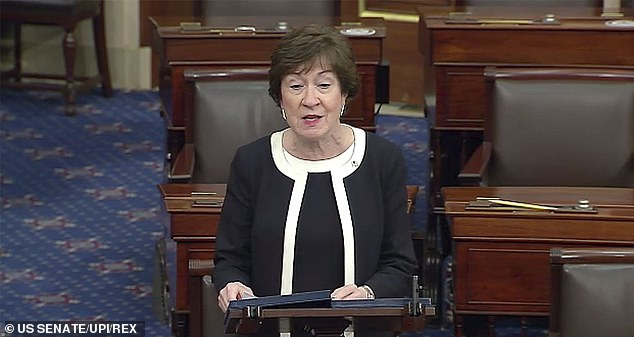 Susan Collins of Maine is also facing censure