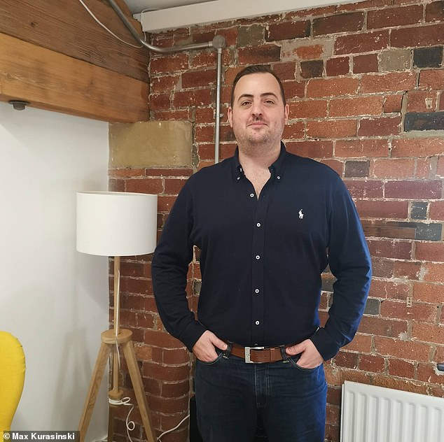 James Langton, general manager of Leeds-based Luxury Flooring. The company has enjoyed a record year of sales during the lockdown but has had difficulties with its imports recently