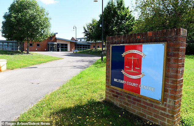 Speaking to the court at Bulford Military Court in Wiltshire, via videolink, Mr Orrell claimed that he was a 'naive and immature' 19 year old at the time of the offences.