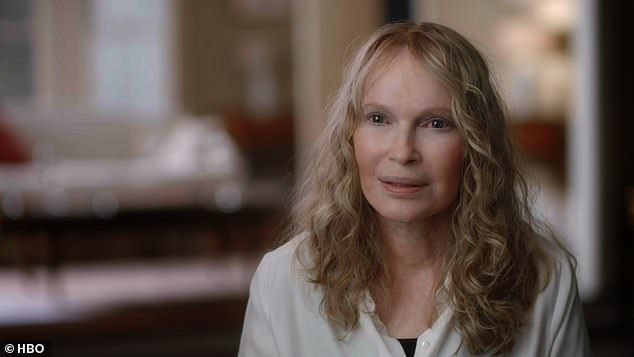 Mia Farrow, recorded Dylan on camera speaking of the two incidents, one on the couch and a second in the attic, of when Allen allegedly touched her