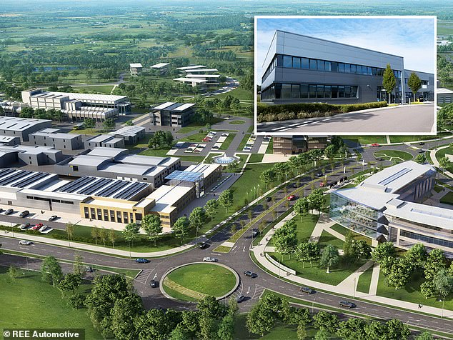 The Israeli company said it would invest about £66million and create around 200 jobs over the next few years at the MIRA technology park in Warwickshire