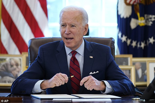 President Joe Biden has signed several executive orders since taking office but gun policy hasn't been a part of them - progressives are upset at lack of progress