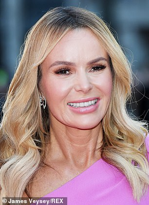 Amanda Holden revealed last year she'd also had the same Morpheus8 treatment as Judy Murray on her neck and face