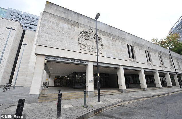 At Manchester Crown Court (pictured), walls will be knocked down to create a 'super court' – large enough to house all parties involved in complicated gang murder trials