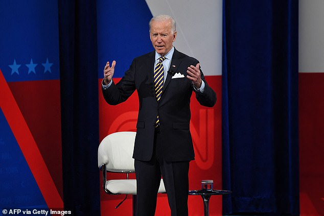 Joe Biden said he's talked to all the living presidents with the exception of one