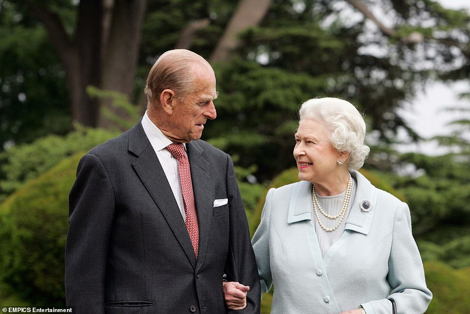 Last month it was revealed both the Duke and the Queen had received their first dose of the coronavirus vaccine