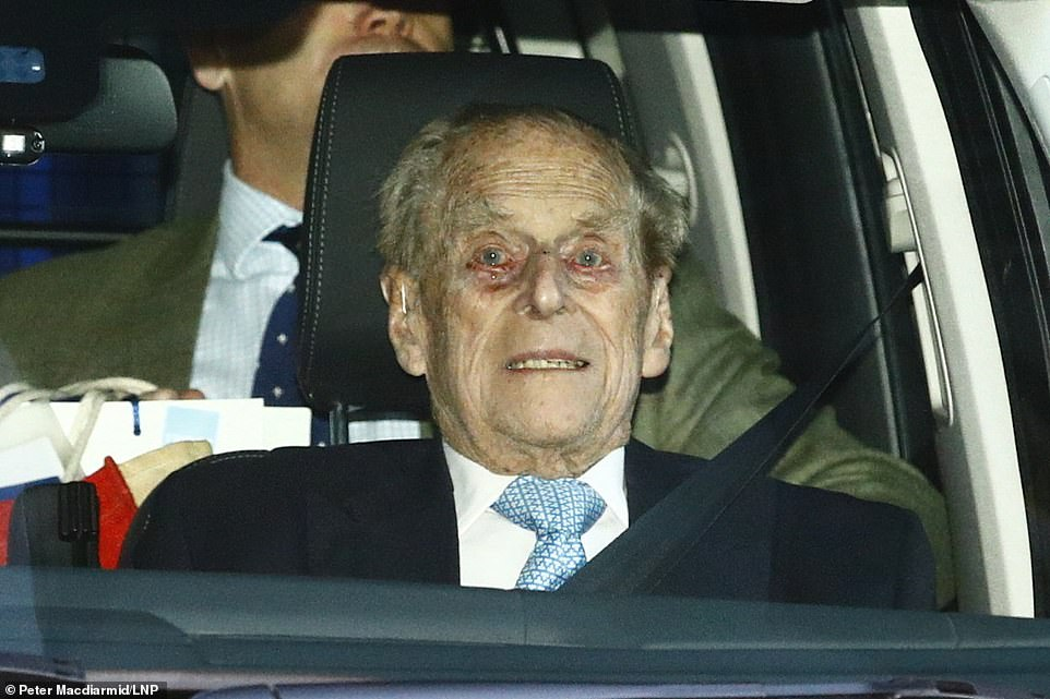 The duke was admitted to King Edward VII's Hospital just before Christmas on December 20, 2019 for treatment relating to a 'pre-existing condition'