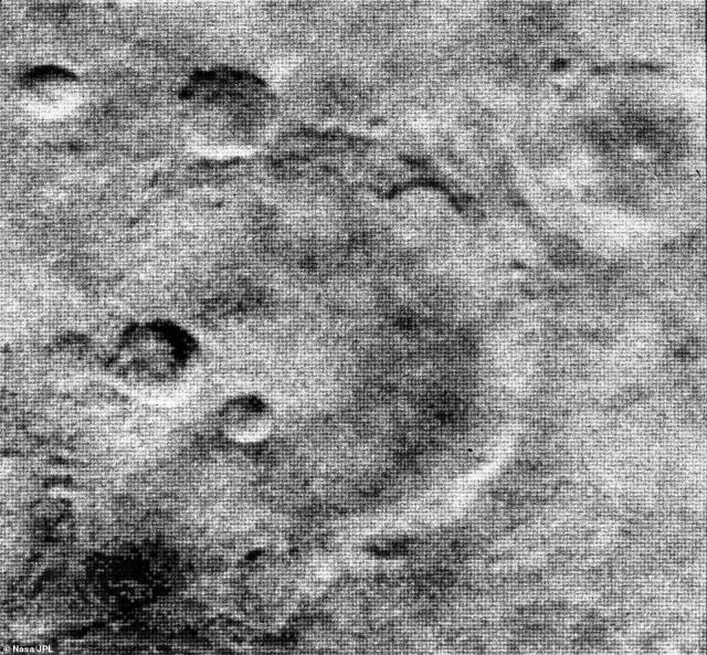 NASA sent its Mariner 4 probe into space in 1965, which snapped the first images of the mystifying world