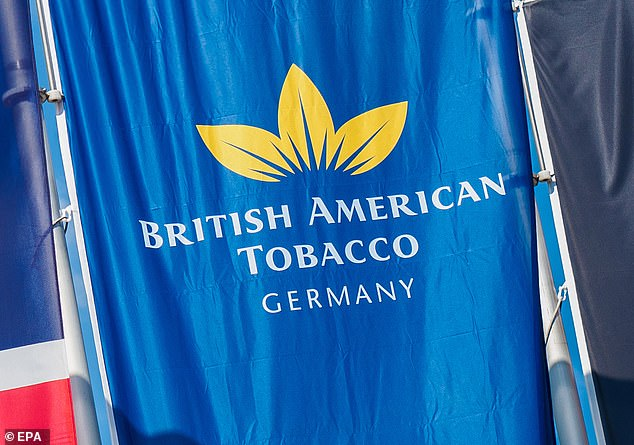 Dividend hike: British American Tobacco said its payout would rise 2.5 per cent to 215.6p per share, worth £4.9bn overall