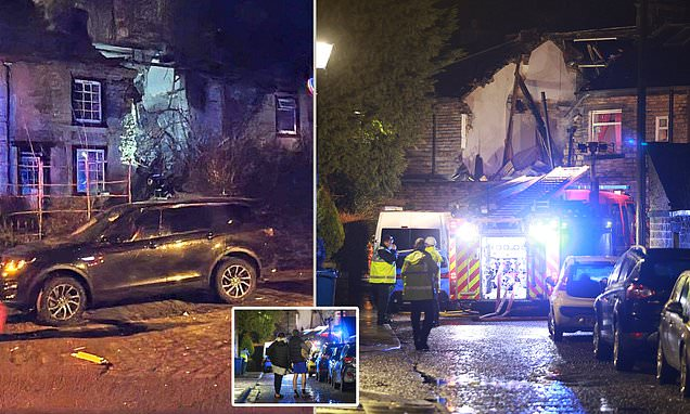 Image result for Woman dies after explosion destroys house in Greater Manchester