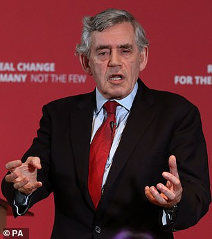 Gordon Brown has called on the Government to change the rules on Child Trust Funds