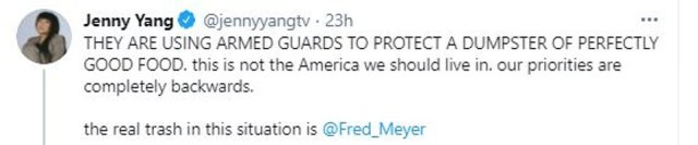 Fred Meyer faced a backlash over the incident at a time when many residents are struggling to feed their families amid the winter storms. Oregon Rep. Barbara Smith Warner blasted the grocery store chain for its 'wrong priorities' on Twitter