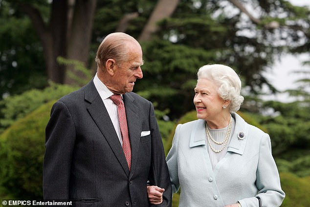 Last month it was revealed the Duke and the Queen had received their first dose of the vaccine