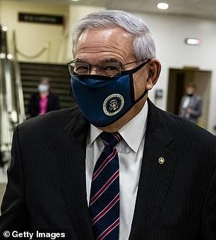 Democratic Sen. Robert Menendez of New Jersey