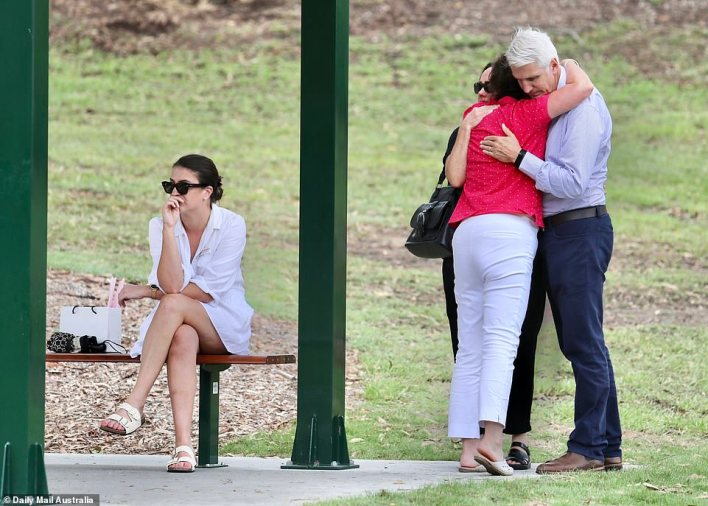 Hannah's parents also revealed they often visited Hannah's Place, a memorial set up in Camp Hill, in Brisbane's east to pay tribute to their daughter and beloved grandkids