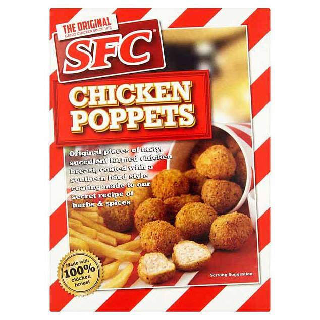 SFC's Chicken Poppets also appeared on a Food Standards Agency alert issued on Thursday