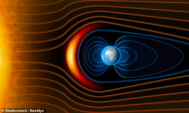 The study by the University of Leeds and University of California at San Diego gives new insight into the swirling flow of iron 2,800 kilometres below the planet's surface and how it has influenced the movement of the magnetic field during the past 100,000 years