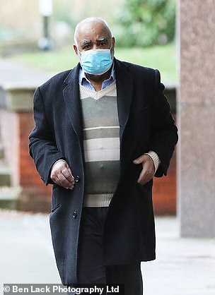 Mohammed Tariq, 65, who is charged with two indecent assaults against a boy under 14
