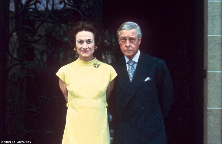 Like Harry, the Duke of Windsor married an American divorcee and left the country, he was going into a life of self-imposed exile. He had renounced the throne to marry Wallis Simpson, a woman whom the state and the public would not accept as Queen