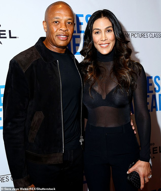 Judge on Friday refused to rule on whether three of Dr Dre's alleged mistresses will have to testify in the rapper's messy divorce, new court documents reveal. Seen in 2016