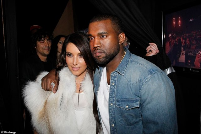 Power duo: In April 2012 Kim and Kanye started dating and they are seen together in NYC and the next month the KUWTK star tweets that she is the 'girlfriend' of West