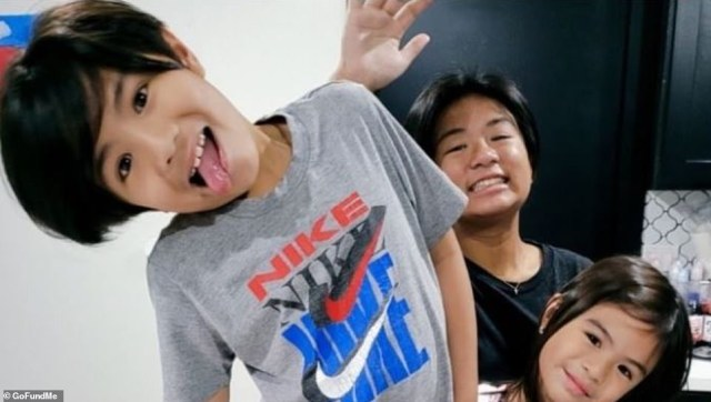 A relative wrote on a Go Fund Me page for theNguyen family, who lost three children and their grandmother: 'These angels were witty, funny, each with their owners funky and sassy attitudes, and each were extremely loved by me and the entire family'