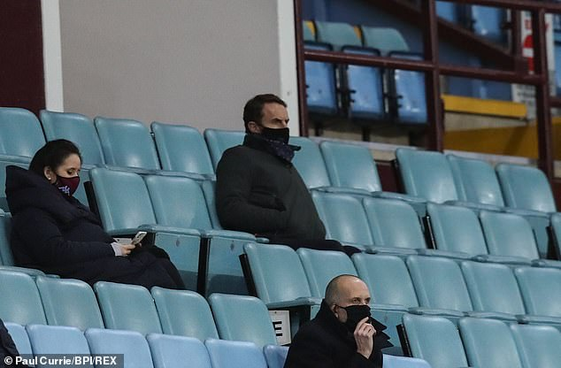 England boss Gareth Southgate will be watching the West Midlands sides on Sunday afternoon