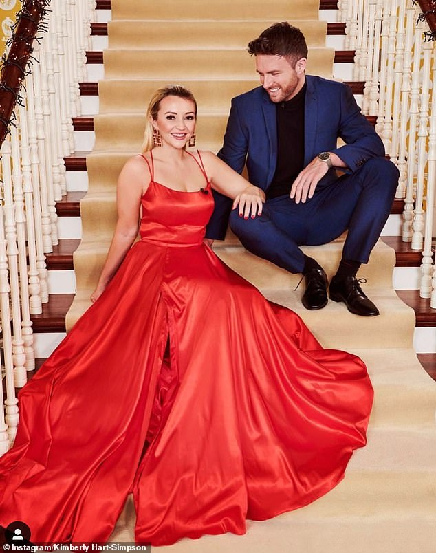 New couple alert: Kimberly Hart-Simpson has confirmed her romance with new boyfriend Shane Finlayson, who she met on Celebs Go Dating